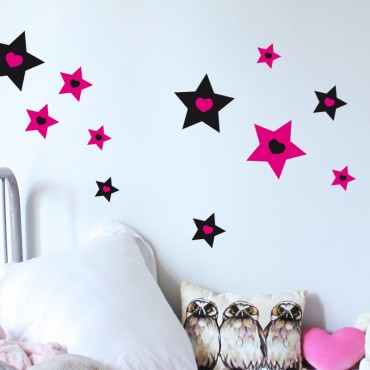 Stickers Etoiles Monster High