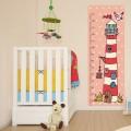 Sticker Toise Chambre Enfant - Bord de Mer Stickers Imprimés Gali Art