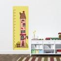 Sticker Toise Chambre Enfant - Maison