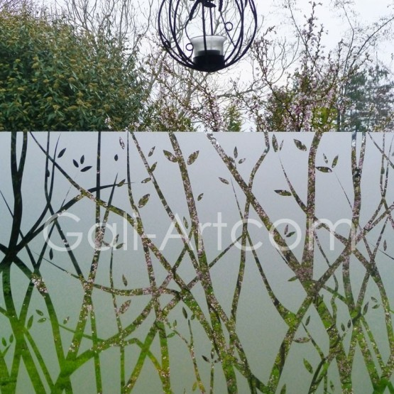 film d coratif arbre d coration pour vitre design. Black Bedroom Furniture Sets. Home Design Ideas