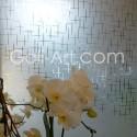 Film décoratif croisillons