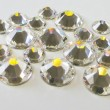 10 Cristaux Swarovski Autocollants Blanc Cristal Cristaux adhésifs