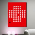 Tableau Swiss Invader Tableaux Pop Numeric