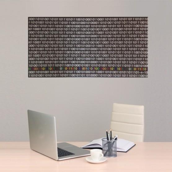 Tableau Code Binaire Tableaux Pop Numeric Gali Art