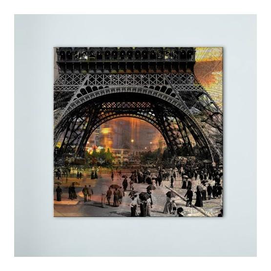 Tableau Paris Belle Époque Tableaux Atmosphère Gali Art