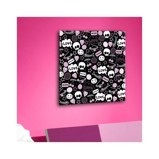 Tableau EMO Skull