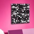 Tableau EMO Skull Tableaux Enfant Gali Art