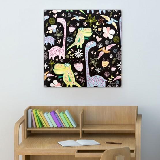 Tableau Dinosaures Tableaux Enfant Gali Art