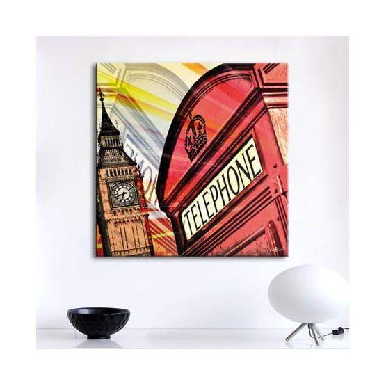 Tableau London Calling Tableaux Atmosphère Gali Art