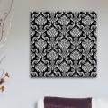 Tableau Motif Baroque Fond Noir Tableaux Atmosphère