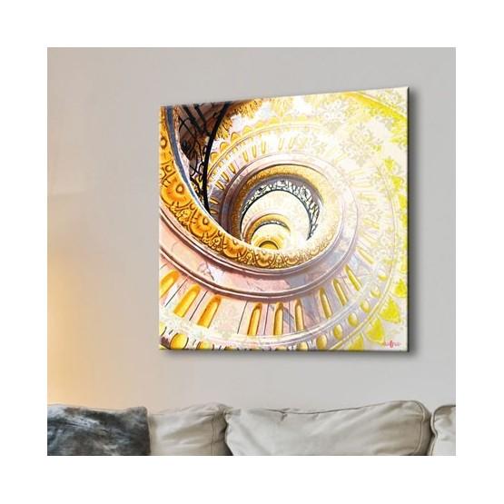 tableau design baroque d coration rococo dorure graphisme design contemporain. Black Bedroom Furniture Sets. Home Design Ideas
