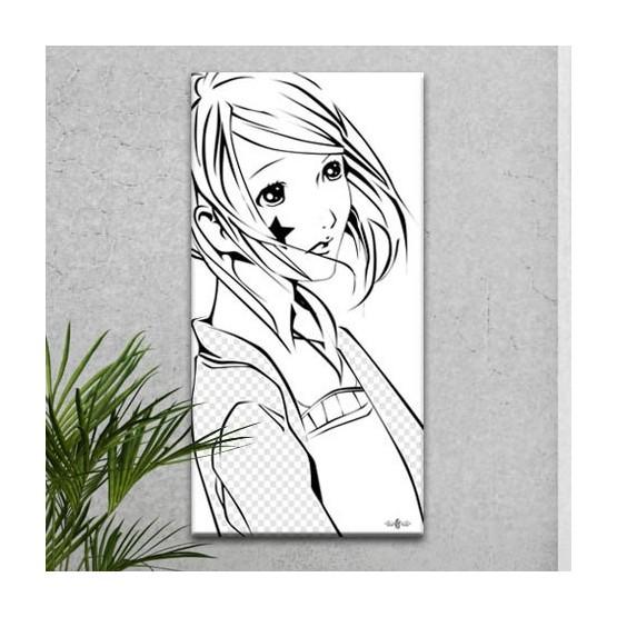 Tableau Manga Fille Bishojo Tableaux Manga Gali Art