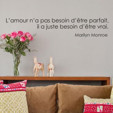 Sticker Citation Marilyn Monroe
