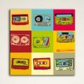 Tableau K7 Vintage Tableaux Pop Numeric Gali Art