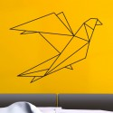 Sticker Oiseau Géométrique