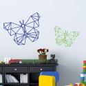 Stickers Papillon Géométrique