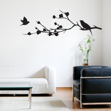 Stickers Branche et Oiseaux