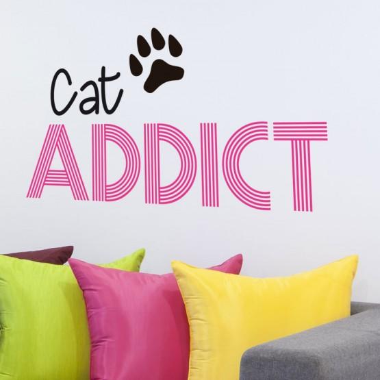 Sticker Cat Addict