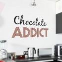 Sticker Chocolate Addict