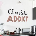 Sticker Chocolate Addict
