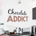 Sticker Chocolate Addict Stickers Imprimés Gali Art