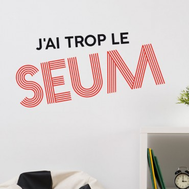 Sticker Le Seum
