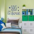 Sticker Sois ton propre héros Stickers Chambres Enfants Gali Art