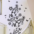 Sticker Grande Arabesque Fleurie Stickers Arabesques