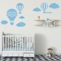 Décor mural Montgolfière Stickers Chambres Enfants Gali Art