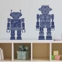 Stickers Duo de Robots