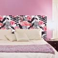 Tête de Lit Exotique Flamant Rose Stickers Têtes de Lit Gali Art
