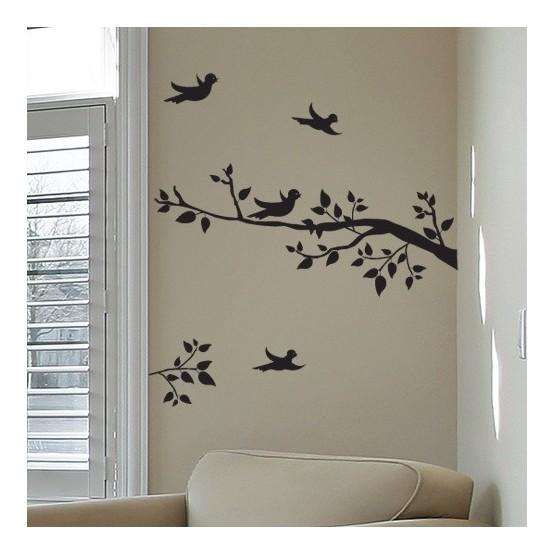 Sticker Branches aux oiseaux