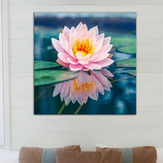 Tableau Fleur de Lotus Tableaux Zen Gali Art