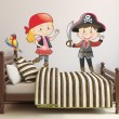 Stickers Duo de Pirates N°1 Stickers Chambres Enfants Gali Art