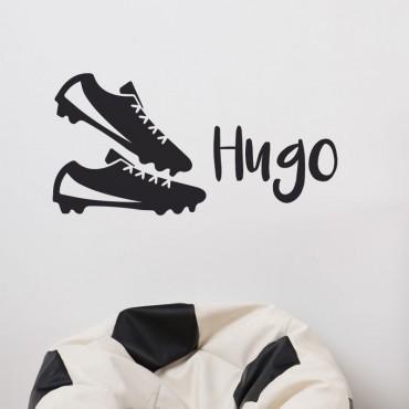 Stickers Chaussures de Foot personnalisé