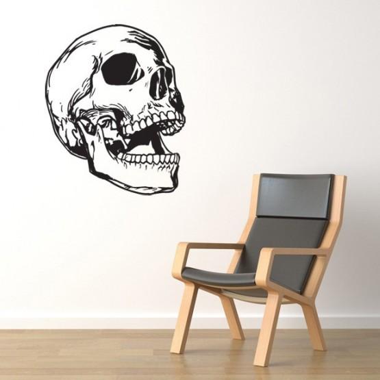 Sticker Crâne