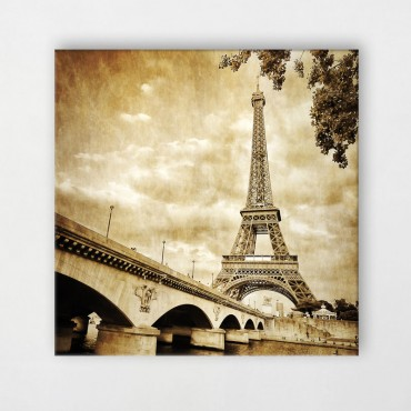 Tableau Paris retro