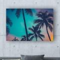 Tableau Couché de Soleil Tropical