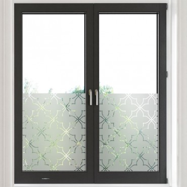 Sticker opacifiant décor vitrail