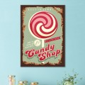 Tableau Candy Shop Tableaux Vintage Gali Art