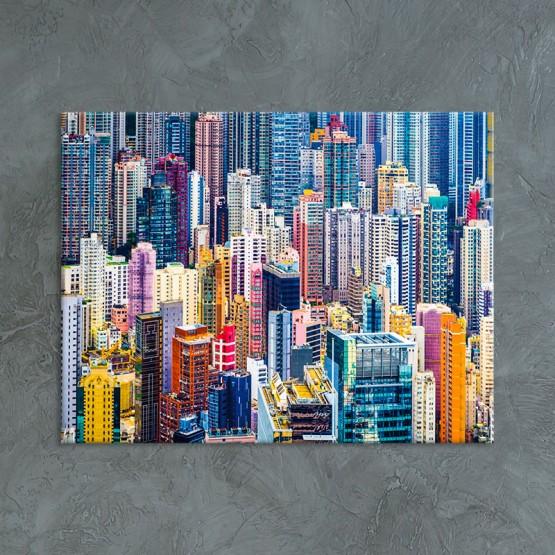 Tableau Buildings colorés Tableaux Urbain Gali Art