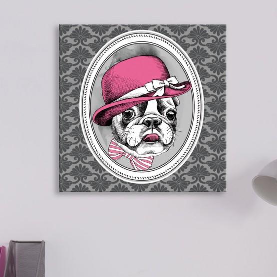 Tableau Portrait Bulldog Tableaux Animaux Gali Art