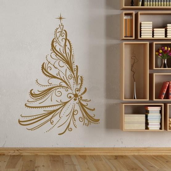 Sticker Sapin de Noël Majestueux