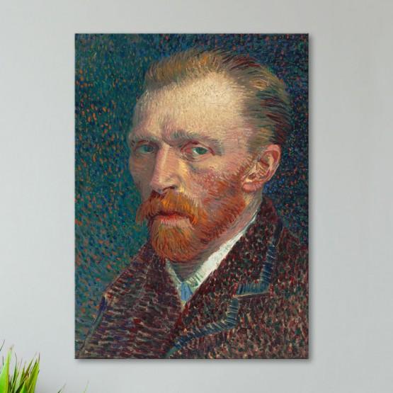 Autoportrait de Vincent Van Gogh Tableaux de Maitre Gali Art