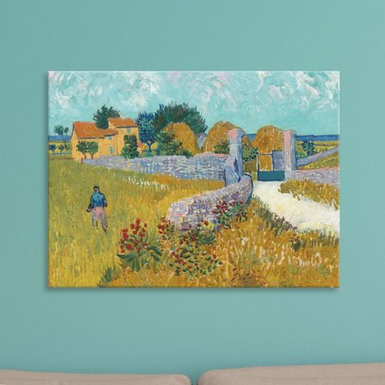 Ferme En Provence De Vincent Van Gogh