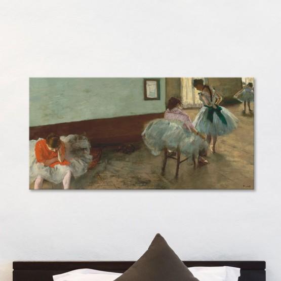 La Leçon de Danse d'Edgar Degas Tableaux de Maitre Gali Art