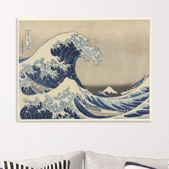 La Grande Vague de Kanagawa de Hokusai Tableaux de Maitre Gali Art