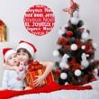 Sticker Boule Joyeux Noël