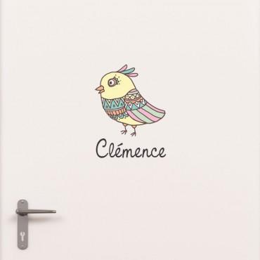 Kit Porte Oiseau avec prénom