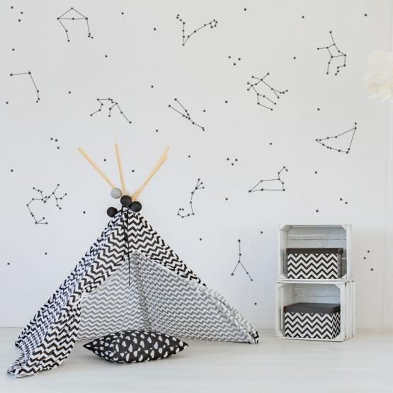 Stickers Constellation astrale Stickers Zen Gali Art